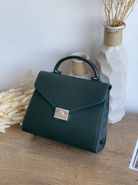 Вместительная сумка зеленого цвета LM3070-3