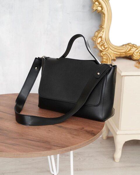 Містка сумка чорного кольору LM3075-1