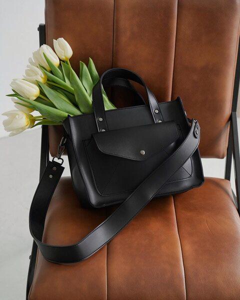Вместительная сумка с карманом LM4000